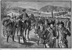 Disbanding the Continental Army, November 3, 1783