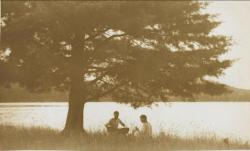 Noon Lunch, Eagle Lake, 1911