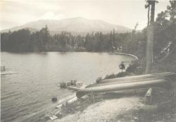 Katahdin from Togue Pond, ca. 1932