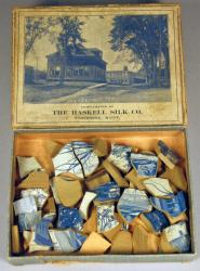 Haskell Silk Company puzzle, ca. 1900