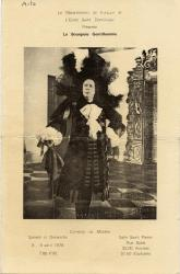Theater program, 'Le Bourgeois Gentilhomme,' Lewiston, 1978
