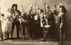 Theater production, Lewiston, 1896
