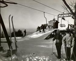 Skiing Pleasant Mountain