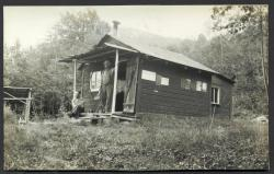 Watchman's cabin, Sally Mountain, 1932