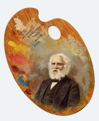 Longfellow Souvenir Palette, 1882