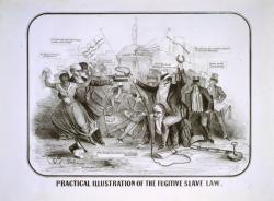 Fugitive Slave Act cartoon, 1851