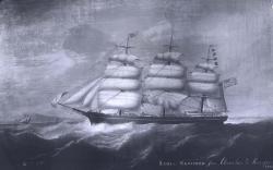 Ship Lydia Skolfield, ca. 1865