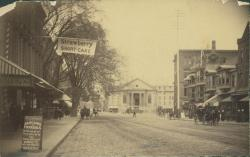 Old City Hall, Portland, ca. 1886