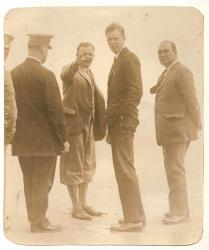 Col. Lindbergh, Old Orchard Beach, 1927