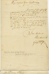 Letter concerning plea for ministers, Casco, 1703