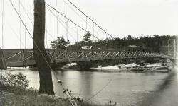 Footbridge, Brunswick-Topsham, ca. 1895
