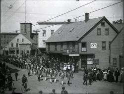 G.A.R. Parade, Bridge Street, Springvale, 1903