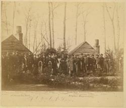 17th Maine Regiment Band, Virginia, ca. 1864