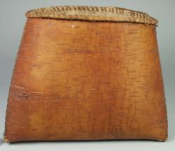 Birchbark bucket, ca. 1900