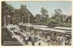 After the Theatre, Riverton Park, ca. 1905