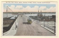 Million Dollar Bridge, Portland, ca. 1916