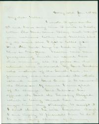J.M. Brown to sister, Folly Island, S.C., 1864