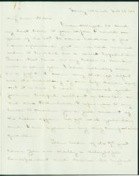J.M. Brown Civil War letter, South Carolina, 1864