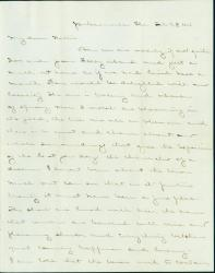 J.M. Brown letter from Jacksonville, 1864