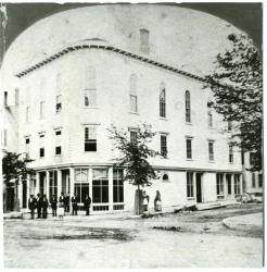 Odd Fellows Block, Biddeford, ca. 1874
