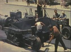 Film: Removing Portland Trolley Tracks