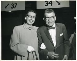 Thelma and Harry Lyon, Portland, 1958