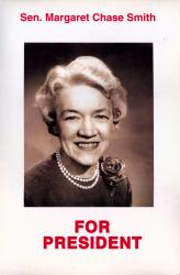 Margaret Chase Smith Campaign Poster, 1964