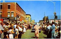 Lobster Festival Parade, Rockland, ca. 1955