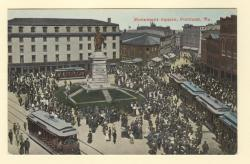 Monument Square, Portland, ca. 1910