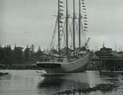 Launch of Doris Hamlin, Harrington, 1919