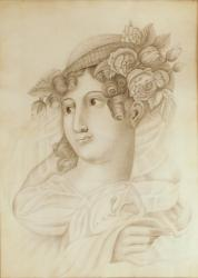 Young girl, Portland, ca. 1820