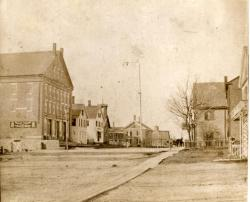 Prison Corner, Thomaston, ca. 1871