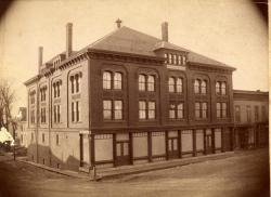 Watts Block, Thomaston, 1890