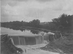 Salmon Falls Dam, ca. 1900