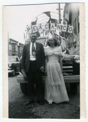 Susie and Arnold Knight, Lubec, 1950
