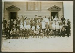 Grammar school, North Lubec, ca. 1911