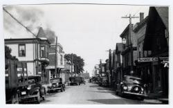 Water Street, Lubec, ca. 1935