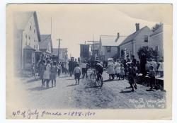 4th of July Parade, Lubec, ca. 1898