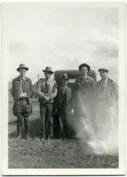 CCC camp superintendents, Jefferson, 1935