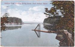 Dark Harbor Pool, Islesboro, ca. 1940