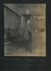 School Teacher, Farmington, ca. 1915