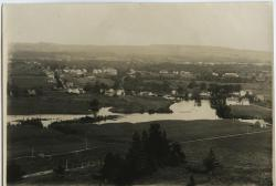 Walton Mills and Walton Pond, Farmington, ca. 1930