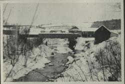 Walton's Mill in winter