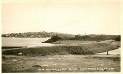 Quoddy Tidal Power Project dam, Lubec, ca. 1937