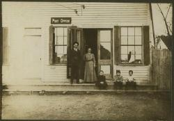 Hampden Highlands Post Office, circa 1908
