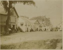 Upper Corner businesses, Hampden, ca. 1904