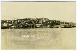 Lubec View from Campobello Island, Lubec, ca. 1920