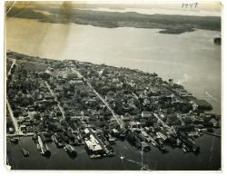 Aerial View of Lubec, 1947