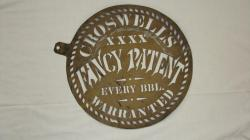 Croswell Fancy Patent Stencil