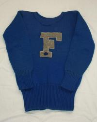 Farmington High School Letter Sweater circa 1940